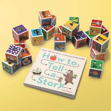 How to Tell a Story Book and Blocks Set