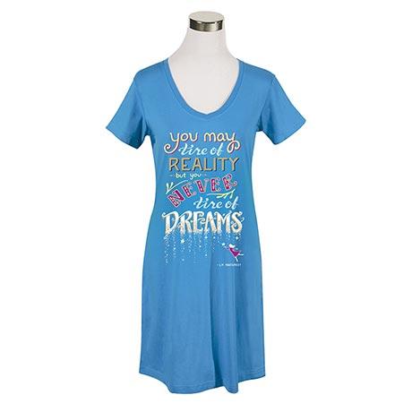 Never Tire of Dreams Nightshirt