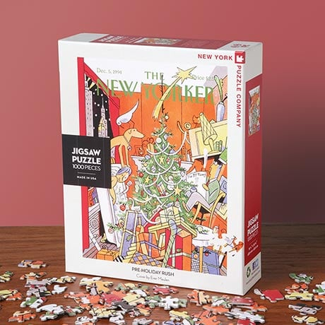 <i>The New Yorker</i> Pre-Holiday Rush Puzzle