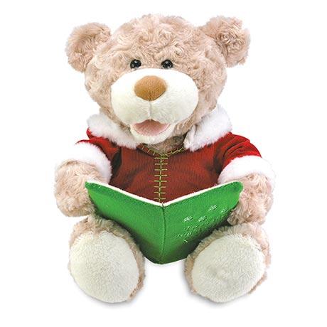 Night Before Christmas Animated Talking Bear