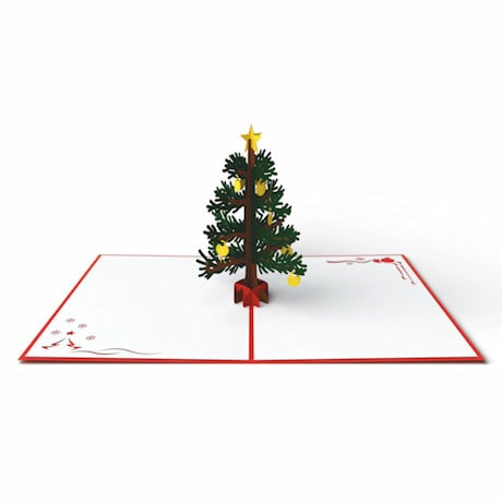 Pop-Up Christmas Tree Greeting Card