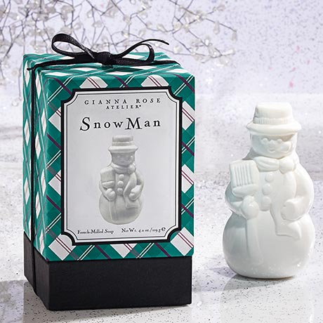 Snow Man Soap