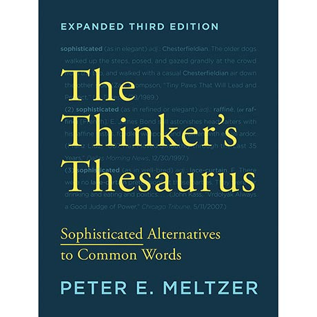 The Thinker's Thesaurus 3rd Edition