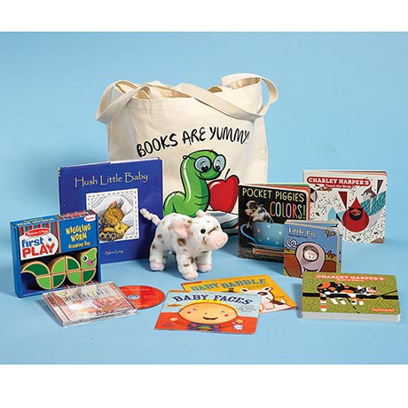 "Well-Read Kids' Packs - ""Books are Yummy!"""