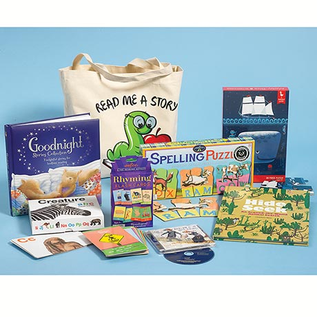 "Well-Read Kids' Packs - ""Read Me a Story"""