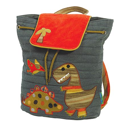 Quilted Backpacks - Dino