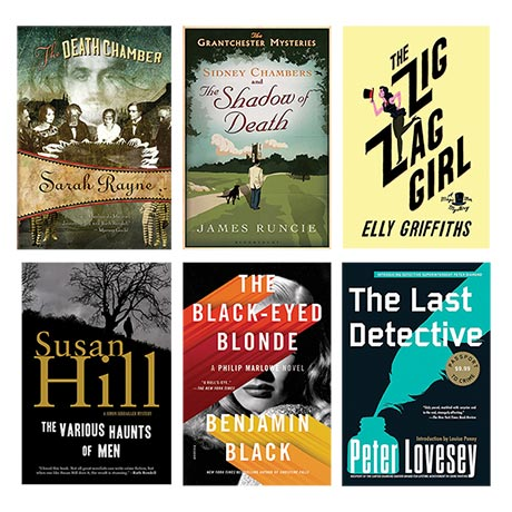 Mysteries Book a Month 2016 - January-June