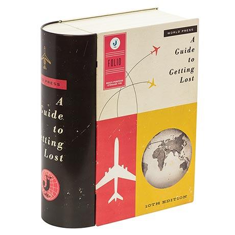 Travel Book Tin