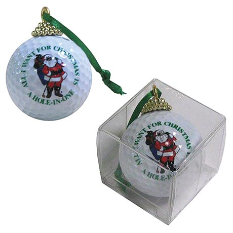 Hole in One Golf Ball Ornament