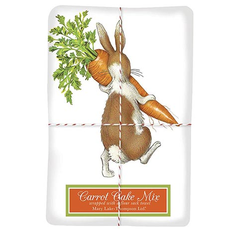 Carrot Thief Towel with Carrot Cake Mix