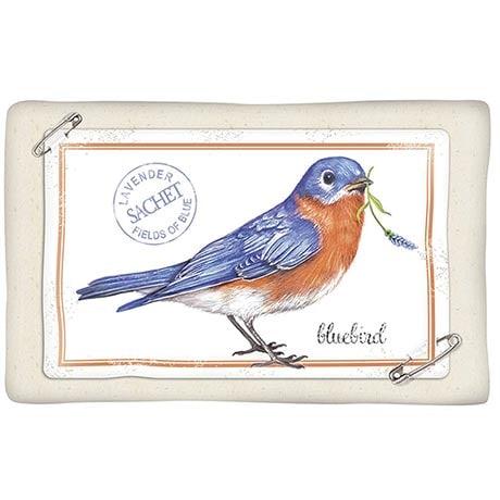 Lavender Sachet: Bluebird