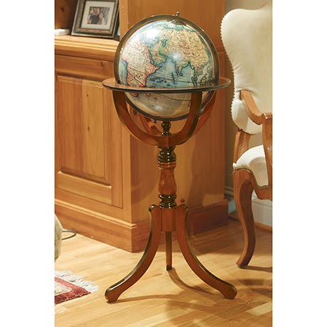 Antique Library Globe