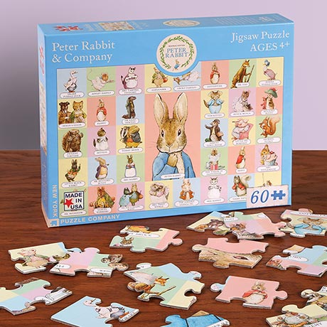 Peter Rabbit and Company Jigsaw Puzzle