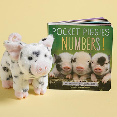 Pocket Piggies: Numbers! and Piggy Plush
