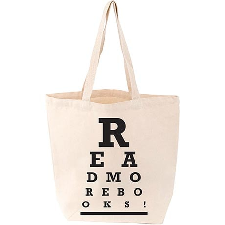 """Read More Books"" Tote"