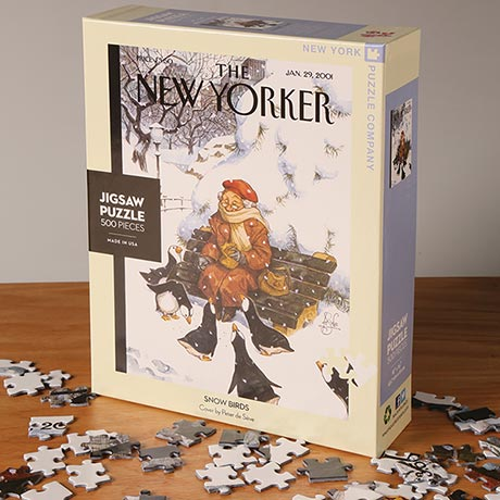 Snow Birds New Yorker Puzzle