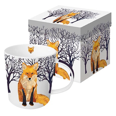 Winter Wildlife Mug - Winter Fox