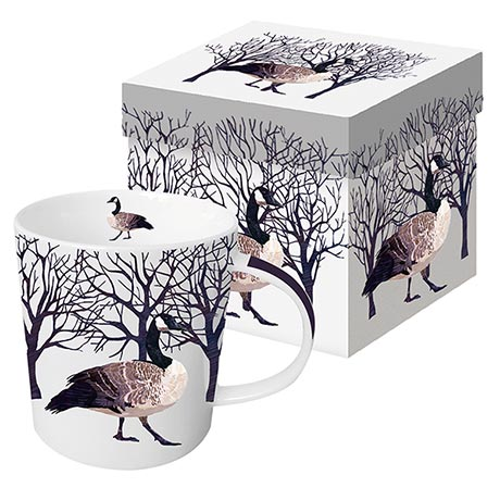 Winter Wildlife Mug - Winter Goose