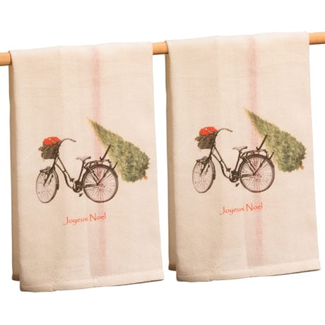 Joyeux Noel Tea Towel Set of 2