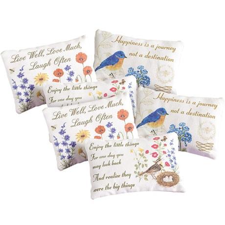 Inspirational Lavender Sachets Set of 2