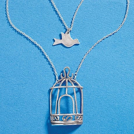 Be Set Free Sterling Silver Necklace