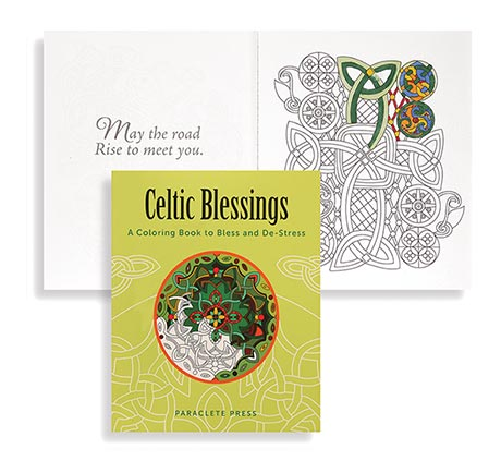 Celtic Blessings Coloring Book