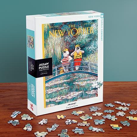 J'Adore Monet <i>New Yorker</i> Puzzle