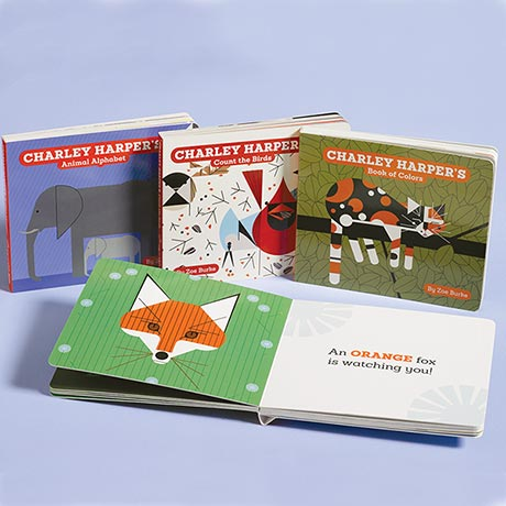Charley Harper Board Books Collection