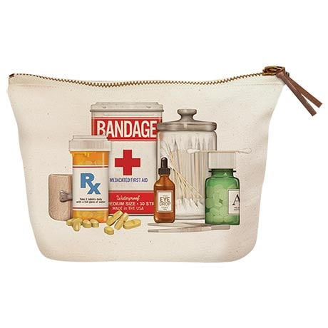 Medicine Cabinet Zipper Pouch