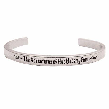 Classic Books Cuff - The Adventures of Huckleberry Finn