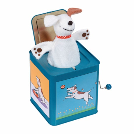 Jack the Dog Jack-in-the-Box