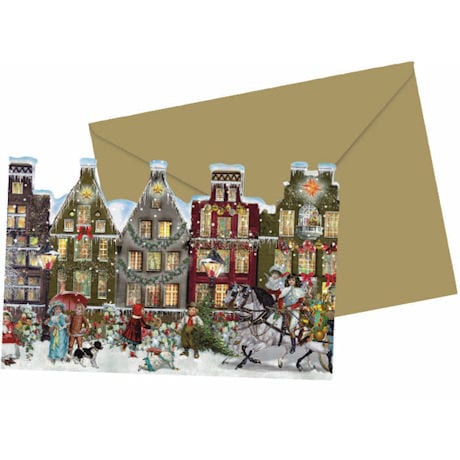 Folding Advent Cards
