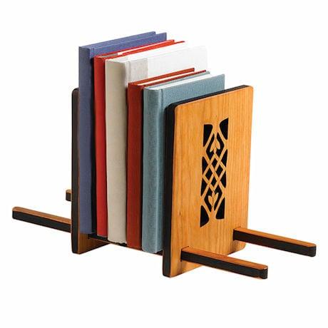 Celtic Sliding Bookshelf