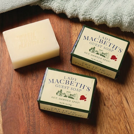 Lady MacBeth's Guest Soap set of 3
