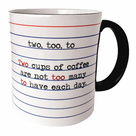 Two, Too, To Mug