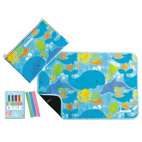 Under the Sea Placemat and Chalk Set