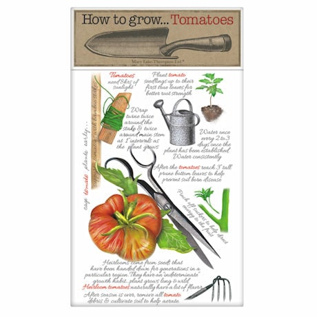 How to Grow Tomatoes Towel
