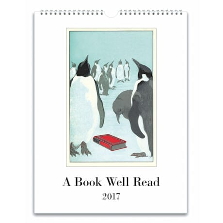 2017 Book Well Read Wall Calendar