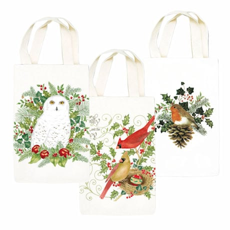 Birds and Holly Gourmet Gift Caddies