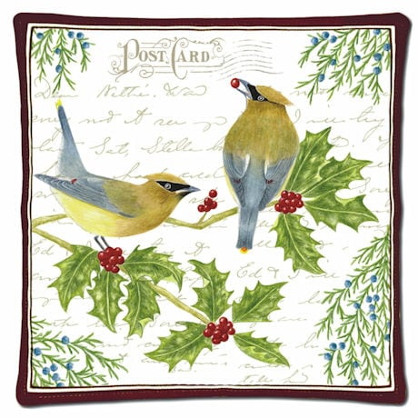Cedar Waxwings Spiced Hot Pad