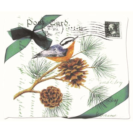 Nuthatch on a Pine Branch Towel Set