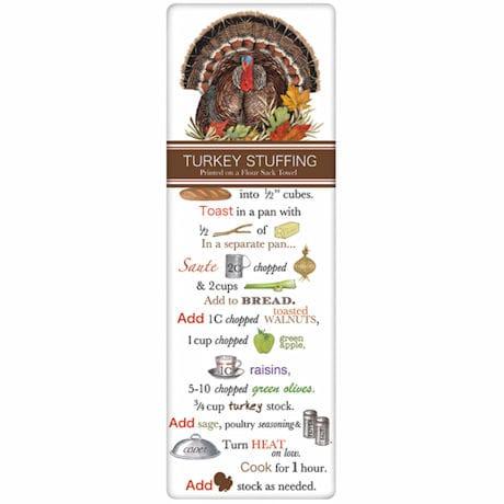 Thanksgiving Recipe Towel Set