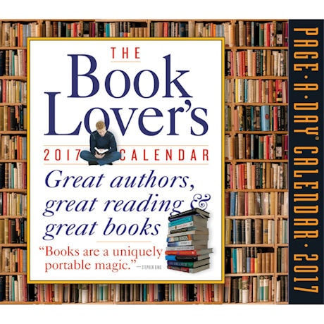2017 Book Lover's Page-a-Day® Calendar