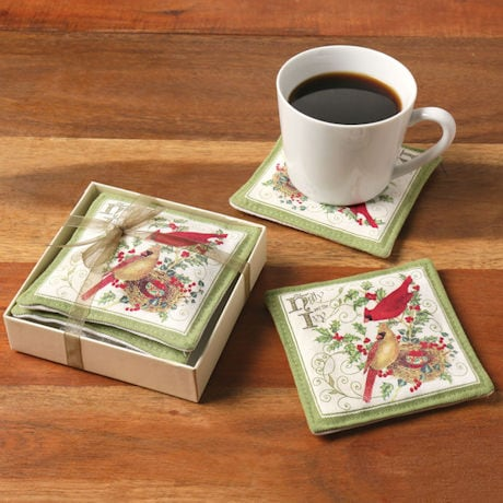 Cardinals Spiced Mug Mats