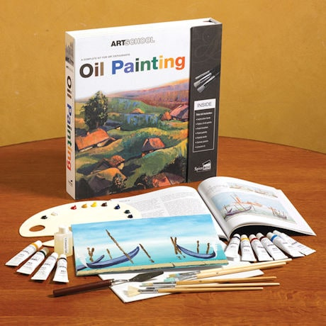 Oil Painting Kit for Enthusiasts