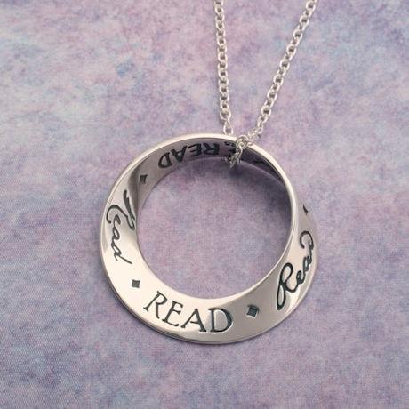 Read Mobius Necklace