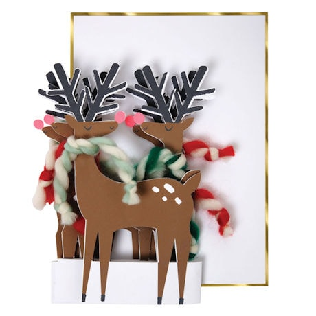 Reindeer Concertina Cards