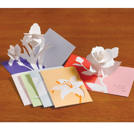 Robert Sabuda Floral Pop-Up Greeting Cards