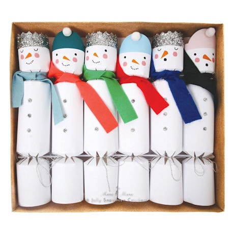 Snowmen Crackers