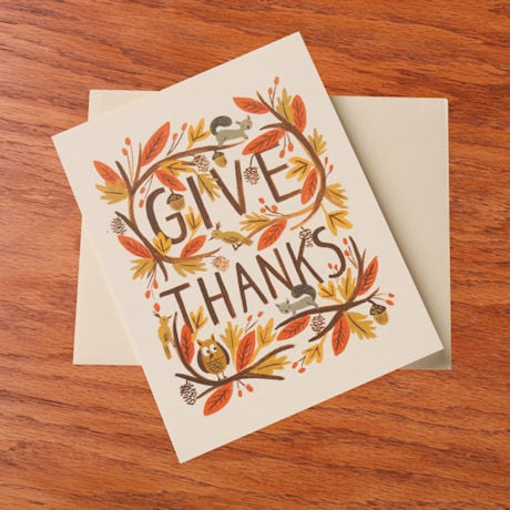 Thankful Forest Cards